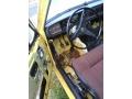 Volvo 142 GT Schweden Fußraum Fahrerseite